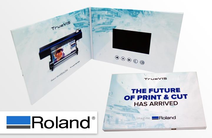 Video in Print Brochure