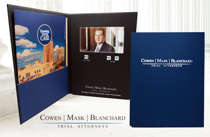 Legal Video Folder - Video in Print