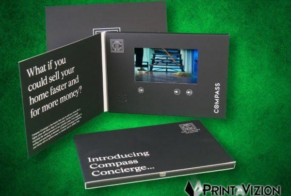 custom video brochure