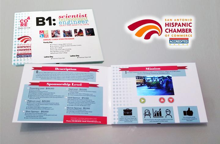 video brochure - chamber of commerce