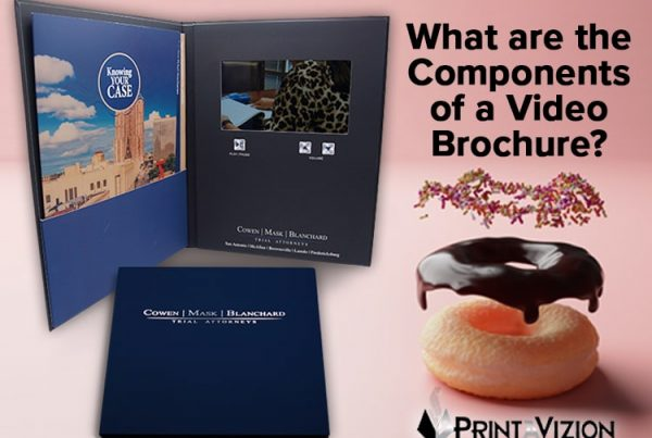video brochure components