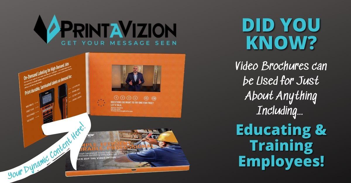 video brochure for employee training